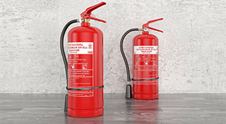 Fire fighting equipment coating