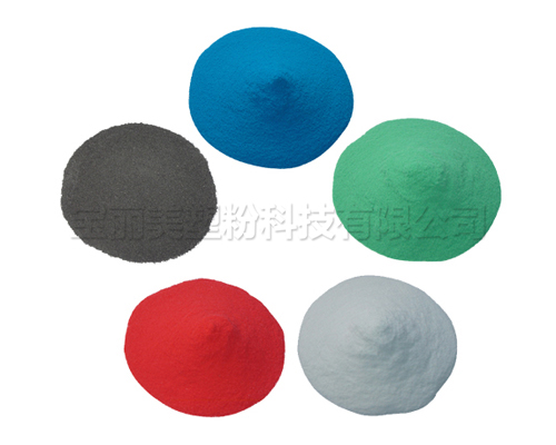 Thermoplastic powder (impregnated powder) solid sample